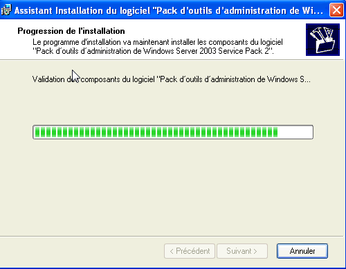 Créer une console MMC sur Windows Server