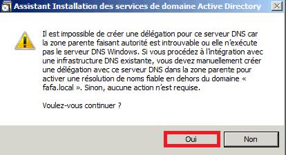 Installer Active Directory dans Windows Server 2008