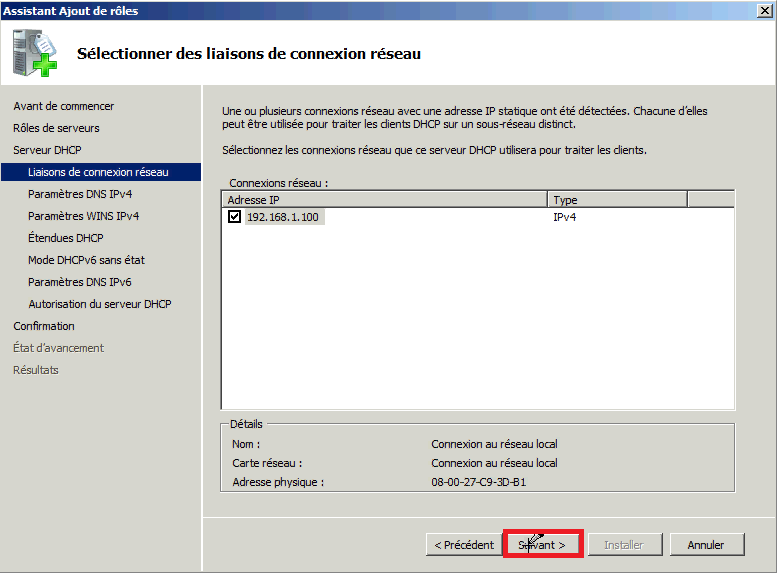 Windows Server 2008 Installer Et Param 233 Trer Un Serveur Dhcp
