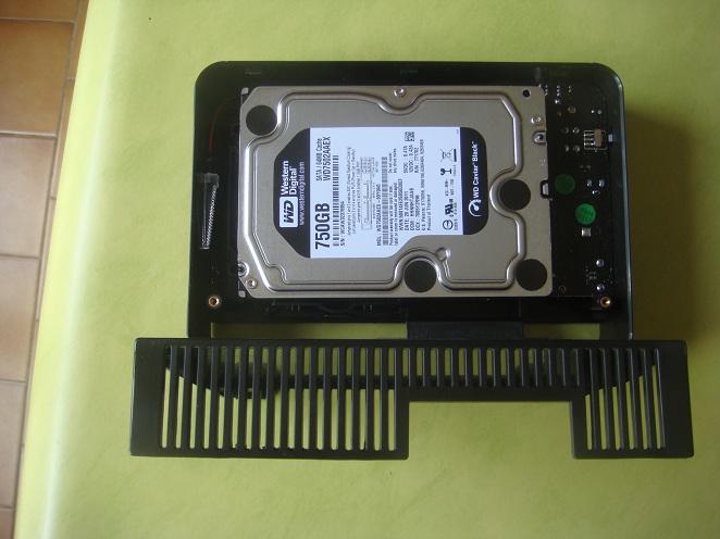 Aération disque dur externe
