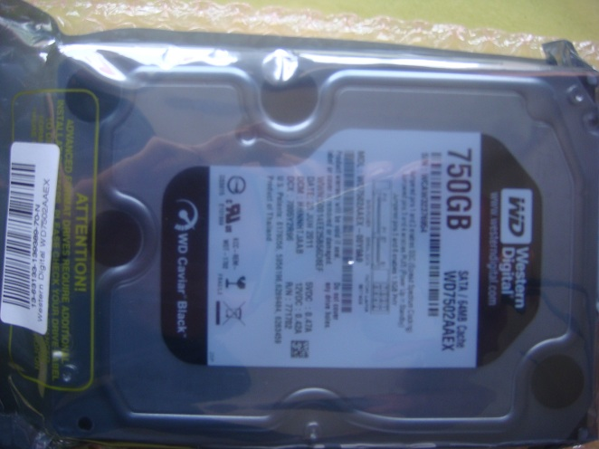 Disque dur Western Digital Caviar Black