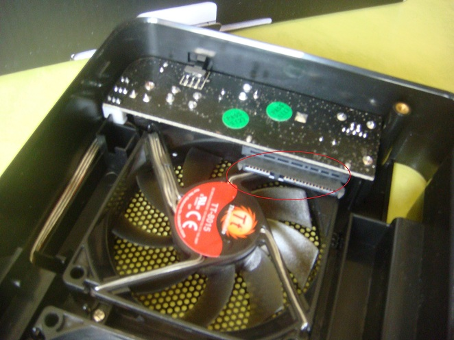 Intérieur boitier Thermaltake