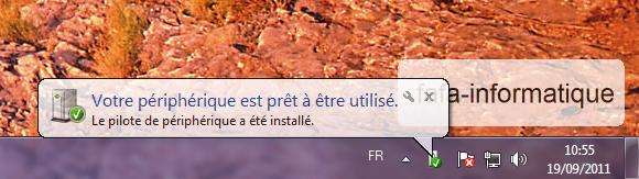 Détecter disque dur sur Windows
