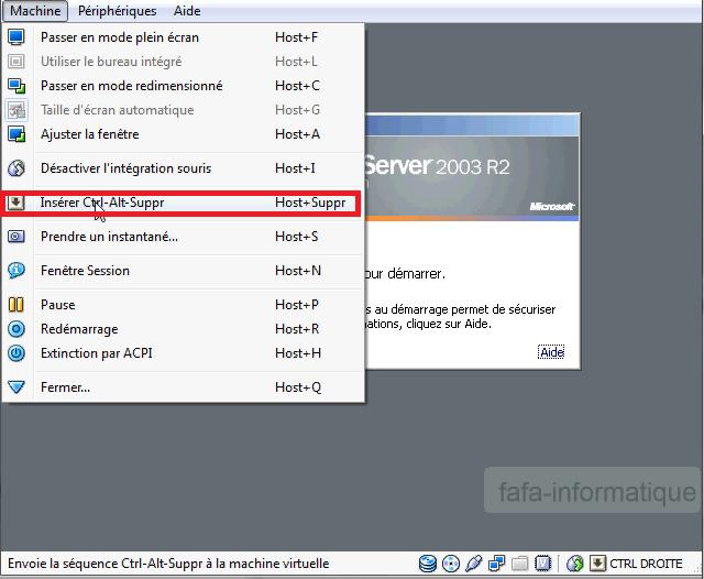 Dossier partage Windows