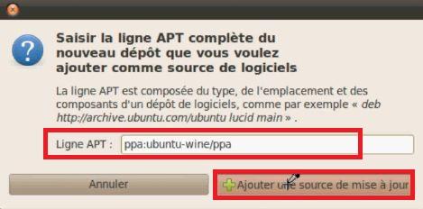 Ajouter une source PPA