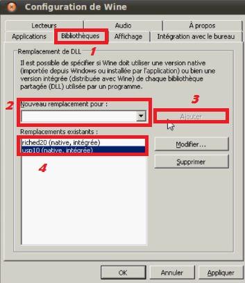 Installer les bibliothèques de Windows