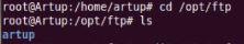 Vérification du dossier FTP