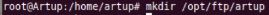 Créer un dossier dans le serveur FTP