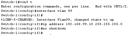 Configurer un VLAN Cisco