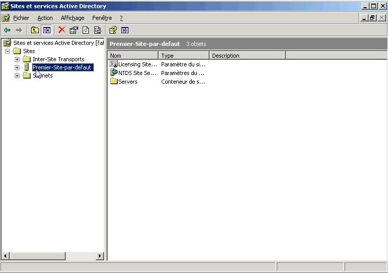 Mettre en place une GPI sur Windows 2003