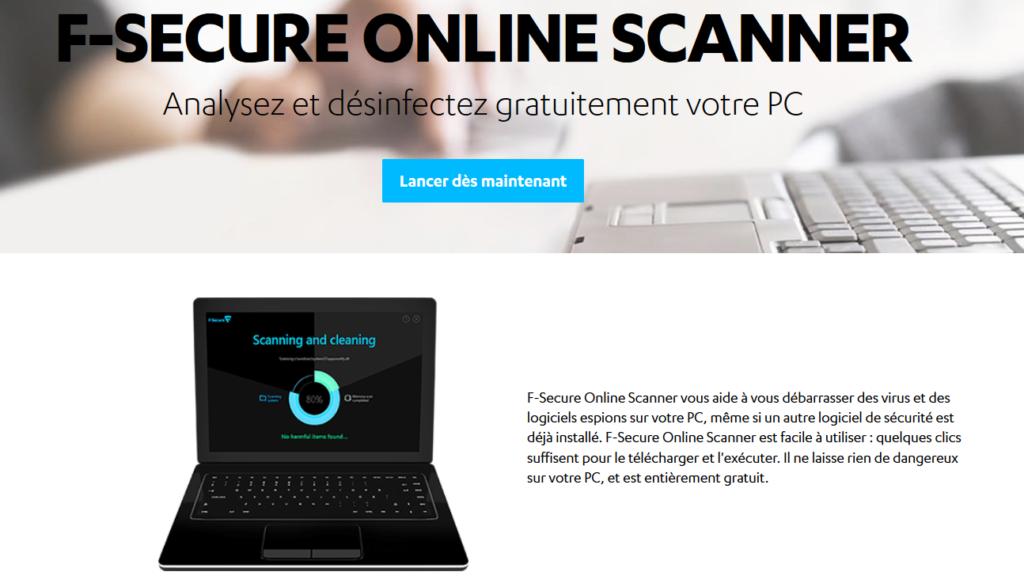 F-Secure Antivirus en ligne