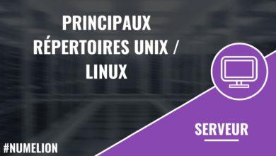 Principaux répertoires Unix / Linux
