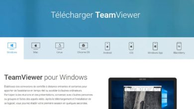 Utilisation de TeamViewer
