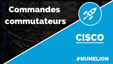 Commandes des commutateurs Cisco