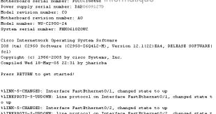 Configuration de base d'un switch Cisco