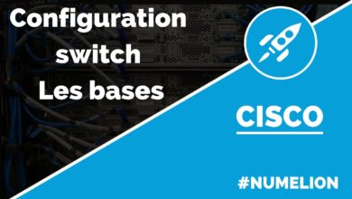Configuration d'un switch Cisco - Les bases
