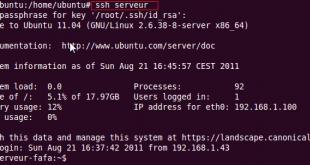 Créeru n profil de connexion SSH