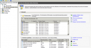Active Directory sur Windows 2008