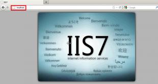 IIS7 sur Windows