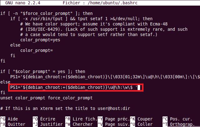 Console Linux