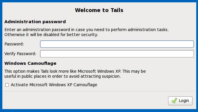 Etre anonyme avec Windows Xp