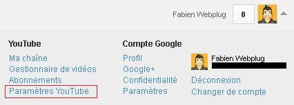 Stopper liaison YouTube et Google +