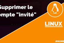 Supprimer le compte invité dans Linux Ubuntu