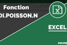 Comment calculer la Loi Poisson dans Excel ? Fonction LOI.POISSON.N dans Excel ? Fonction LOI.POISSON.N dans Excel