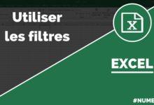 Utiliser les filtres dans Excel