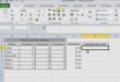 Utiliser la fonction SOMME dans Excel