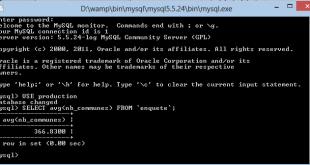 Calcul dans MySQL