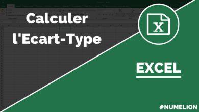 Calculer l'Écart-type dans Excel