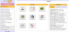 Galette logiciel pour association