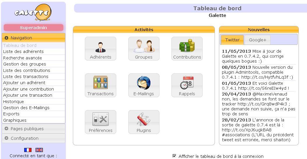 Galette logiciel de gestion d 39 associations gratuit tutoriel et vid o - Association de recuperation meubles gratuit ...
