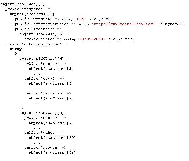 Manipuler un fichier JSON