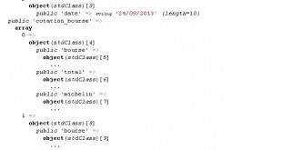 Utiliser et manipuler un fichier JSON
