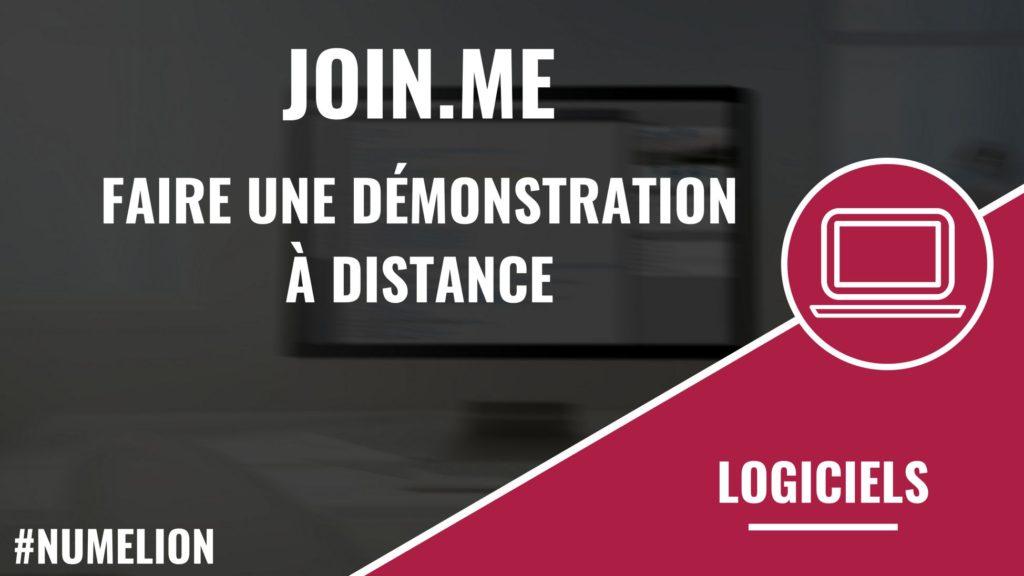 Join.me - Un logiciel pour réaliser des démonstrations ou réunions à distance