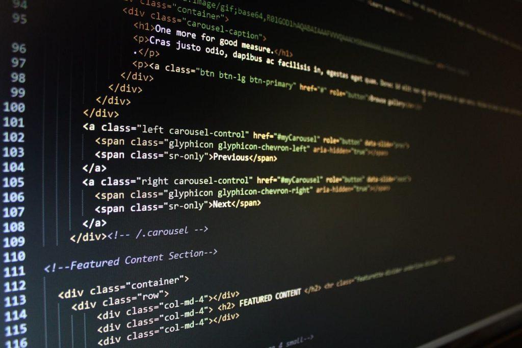 Les balises H1-H6 dans le code HTML