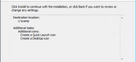 Installer Wamp Server