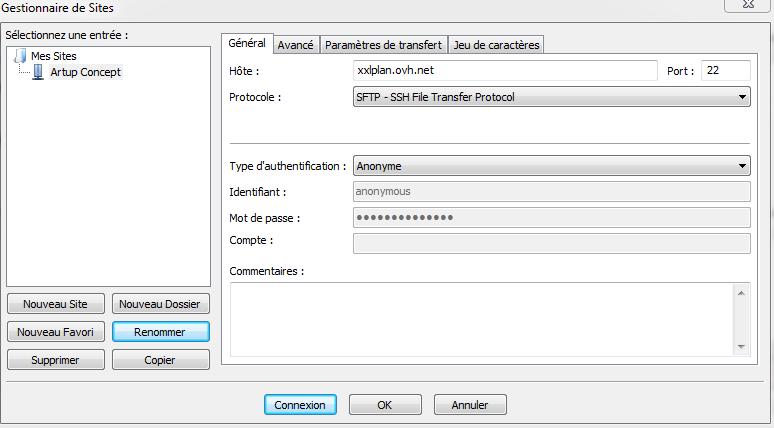 Protocole SFTP