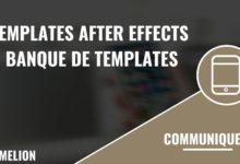 Banque de templates After Effects
