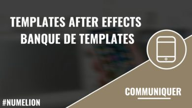 Banque de templates After Effects