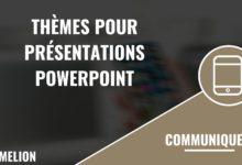 Thèmes pour présentations Powerpoint