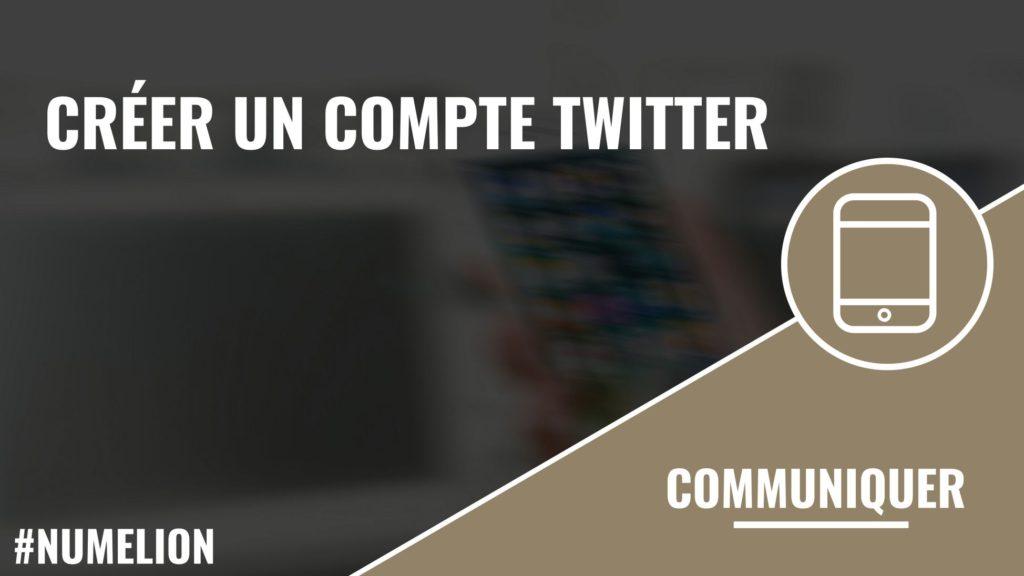 Créer un compte Twitter