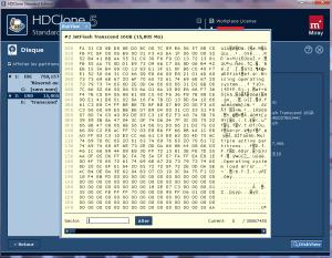 Explorer un disque dur