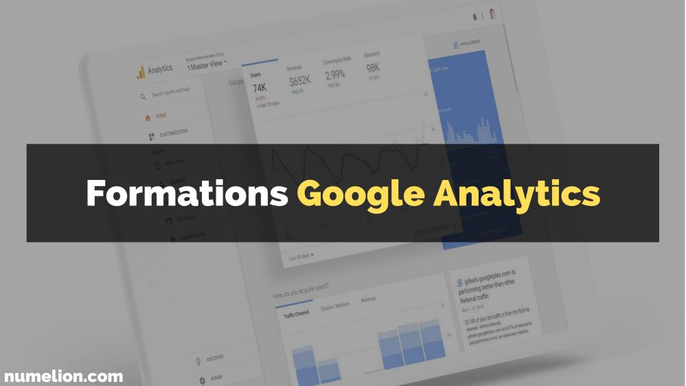 Meilleures formations Google Analytics gratuites