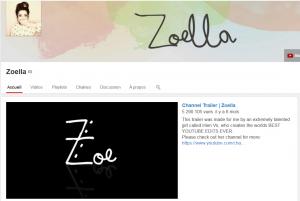Chaîne YouTube de Zoella