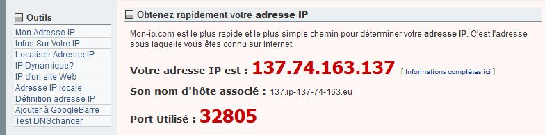 IP après avoir utilisé un proxy dans Mozilla Firefox