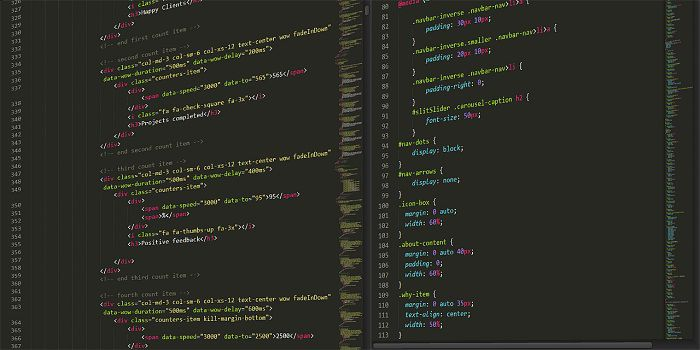 Code CSS pour une page responsive