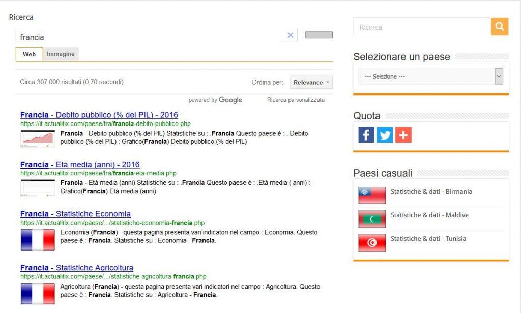 Insérer un moteur de recherche Google sur un site internet